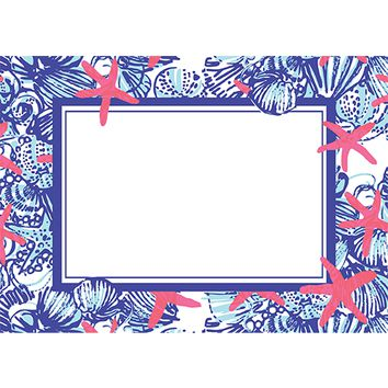 She She Shells Correspondence Cards by Lilly Pulitzer®