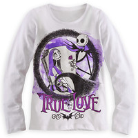 Disney Nightmare Before Christmas Long Sleeve Tee for Girls | Disney Store
