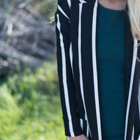 Pinstripes and Power Jacket