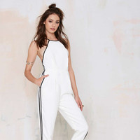 Halter Backless Jumpsuit
