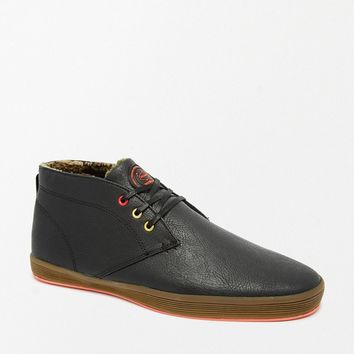 Fish & Chips by Base London Shearling Look Chukka Boots