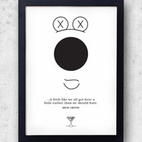 Family Guy Poster - RIP Brian Griffin, everyones favourite dry martini drinking anthropomorphic pet dog. Seth MacFarlane