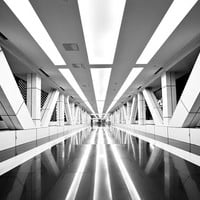 METROCHROME - Architectural Photography - Monochrome - Black and White - Architecture - Abstract - Symmetry - Fine Art - Wall Art - Print