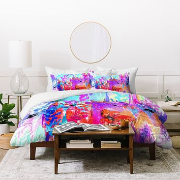 Holly Sharpe Summer Rain Duvet Cover