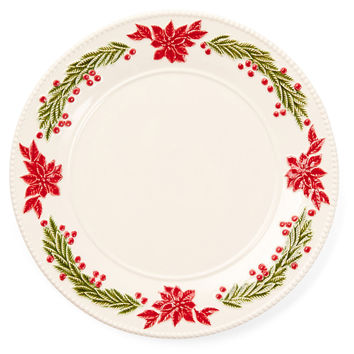 Ceramic Holiday Serving Plate, Serving Plates & Platters