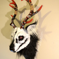Supernatural Demon Deer Wall Mount
