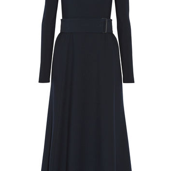 Lemaire - Stretch wool-blend midi dress