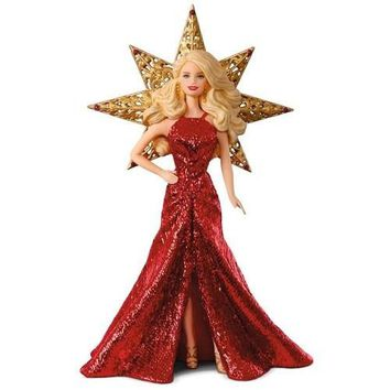 Hallmark 2017 Holiday Barbie Ornament