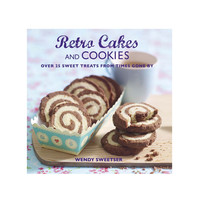 Retro Sweets Hardcover Book