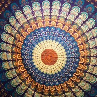 Mandala Tapestry Blue - Mellow Mood