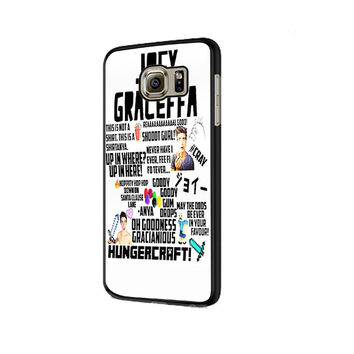 Collage Joey Graceffa Samsung Galaxy S6 | S6 Edge Cover Cases