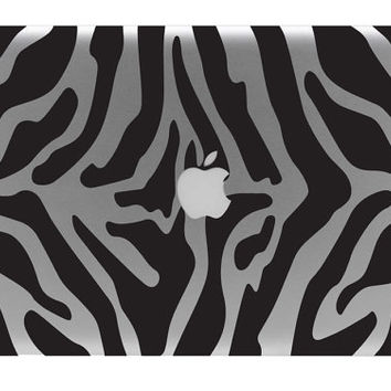Zebra Print 2 Macbook Decal / Macbook Sticker / Laptop Decal