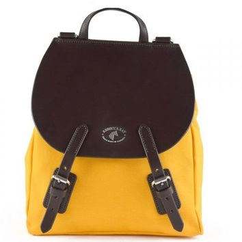 Equus Canvas Leather Backpack | Preakness