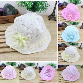 2019 Emmababy New Cute Summer Newborn Baby Kids Girls Boys Hat Childrens Bucket Sun Cap