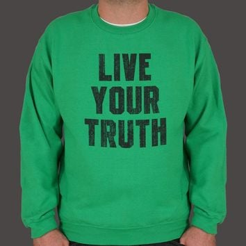 Live Your Truth Men's Sweater