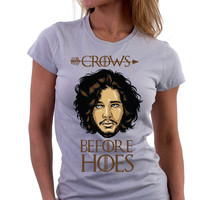Crows Before Hoes - Envy My Tee