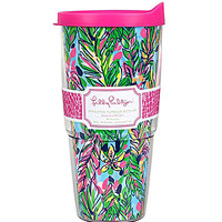 Lilly Pulitzer 24-oz Tumbler with Lid Hot Spot