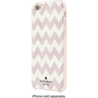 kate spade new york - Hybrid Hard Shell Case for Apple® iPhone® 6 and 6s - Blush/Cream