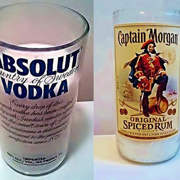 Cyber Monday Bundle Deal! Captain Morgan's and Absolut Vodka Soy Candle Package TODAY ONLY