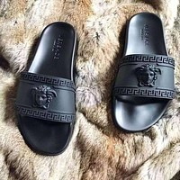 Trendsetter VERSACE Casual Fashion Women Multicolor Sandal Slipper Shoes