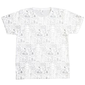 """Portland Pattern"" T-Shirt by Walnut Studiolo"