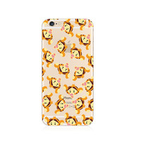 Winnie the Pooh Tigger Pattern iPhone 6s 6 Transparent Clear Soft Case