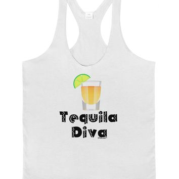 Tequila Diva - Cinco de Mayo Design Mens String Tank Top by TooLoud