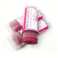 Strut Tinted Lip Balm Creamsicle Flavored Shimmery Mauve Shade