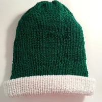 Santa Hat Green,Reversible.