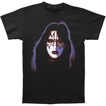 KISS Men's  Ace Frehley T-shirt Black