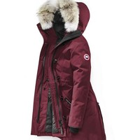 Canada goose rossclair winter WOMEN Down jacket/red