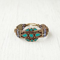 Free People Moon Shield Large Bracelet
