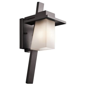 Kichler Lighting - 49257AZ - Stonebrook - One Light Outdoor Wall Mount