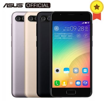 "Original ASUS ZenFone 4 max Pegasus 4A Daul Back Camera Quad Core MT6737 Android 7.0 3GB RAM 32GB ROM Fingerprint ID 5""Cellphone"