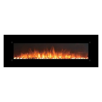 "Touchstone Onyx XL™ - 72"" Wall Mounted Electric Fireplace (#80005)"