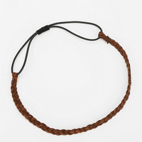 Suede Braided Headwrap - Urban Outfitters