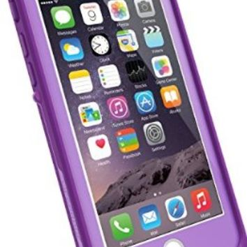 "LifeProof FRE iPhone 6 ONLY Waterproof Case (4.7"" Version) - Retail Packaging -  PUMPED PURPLE (LIGHT LILAC/DARK LILAC)"