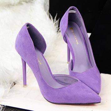 Women pumps high heels women shoes zapatos mujer ladies wedding shoes  fashion red bottom high heels women shoes