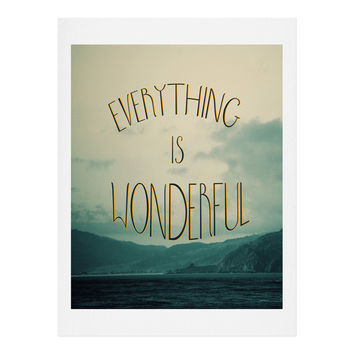 Chelsea Victoria Everything Is Wonderful Art Print