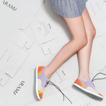 Lace up women sneakers, Walking shoes, Azotic Topaz Sneakers