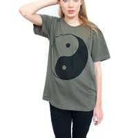 Yin yang short sleeve tee Small Medium Large
