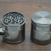 Multi-functional zinc alloy grinder