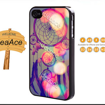 iPhone 5 case, Dream catcher, Resin phone cases, Note 3 case, iPhone 5C case, iPhone 4 case, Galaxy S4 case--N0139