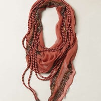 Anthropologie - Beaded Manori Scarf Necklace