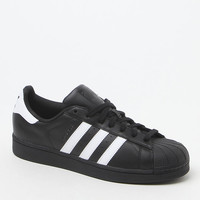 adidas Superstar Low-Top Black and White Shoes at PacSun.com
