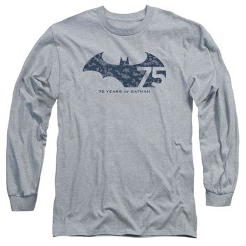 Batman - 75 Year Collage Long Sleeve Adult 18/1
