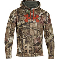 Under Armour Camo Big Logo Pullover Hoodie - Men's