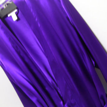 Liquid Satin Robe, Wrap Kimono, Gorgeous Vivid Violet, M-L-XL, Morgan Taylor, Honeymoon, Resort Cruse Wear, Sexy Sleepwear