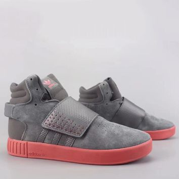 Adidas Tubular Invader Strap Fashion Casual High-Top Old Skool Shoes-17