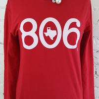 806 tee in long sleeve